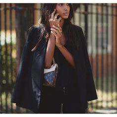 Jasmine Tookes in By Malene Birger Kasinea blazer