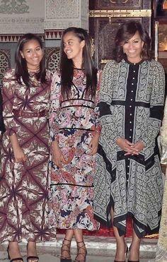 Sasha and Malia Obama's Best Fashion Looks - Style Evolution of Sasha Obama and Malia Obama Malia Obama, Barack Obama Family, Michelle Obama Fashion, Michelle And Barack Obama, My Black Is Beautiful, Beautiful People, Beautiful Ladies, Simply Beautiful, Beautiful Dresses