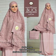 Mukena Suci by Nanbell's Couture Sewing, Mocca, Quran, Muslim, Prayer, Grey, Pink, Shopping, Dresses