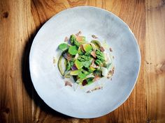 Perlemoen, waterblommetjie and sour figs by executive chef Margo Janse | Le Quartier Français