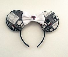 A personal favorite from my Etsy shop https://www.etsy.com/listing/255853717/star-wars-stormtrooper-ears-first-order