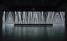 "Carsten Nicolai aka Alva Noto for http://www.bethelines.com/be/2013/mar/20/when-architect-becomes-soundvisual-artist/ ""unidisplay (tri-version) Exhibition Views"""
