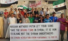 Блог-дайджест Vyacheslavа Mazurenko : Сирийцы российским матерям: Путин завел ваших сыно...