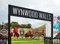 Wynwood Walls is just the beginning of the amazing art in the district.