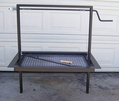 Drop In Frame Unit Santa Maria BBQ Pit Grill 3/16