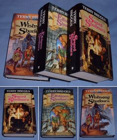 The Shanarra Trilogy.  Sort of like Tolkein lite.  One of my favorites.