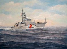 USCGC Monsoon by William H Ravell III