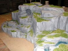 How to build Rocky Terrain- might be kind of cool. Admittedly, I did not look at it-may be pricey or time consuming