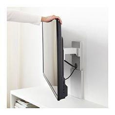 """UPPLEVA Bracket for TV, swivel, light gray - 37-55 """" - IKEA"""