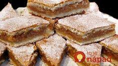 Reteta Prajitura cu mere , gata in cateva minute ! Romanian Food, Healthy Desserts, Apple Pie, Sweet Recipes, Deserts, Food And Drink, Cooking Recipes, Yummy Food, Sweets