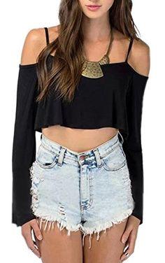 Finejo Womens Vintage Crop Cut Out Shoulder Clubwear Tank Midriff Tops Finejo http://www.amazon.com/dp/B01564O9R4/ref=cm_sw_r_pi_dp_HXCdwb0M0SVYQ