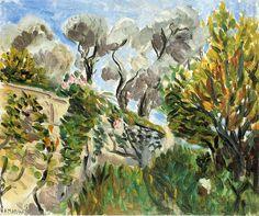 Henri Matisse - Landscape 1917
