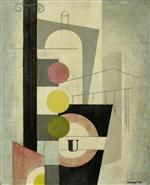 LEO LEUPPI 1893 - 1972 London. 1933. Öl auf Karton. 66 x 53 cm.