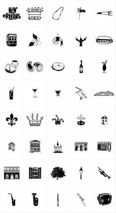 New Orleans Doodles