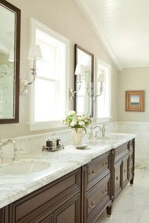Cape Cod Style in Laguna Beach, CA - traditional - bathroom - orange county - by Wendi Young Design