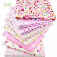 8pcs/Lot Print Twill Cotton Fabric For Sewing Baby Bedding Clothes Children Dress Skirt Patchwork Floral Tissue Material 40x50cm #clothing,#shoes,#jewelry,#women,#men,#hats,#watches,#belts,#fashion,#style
