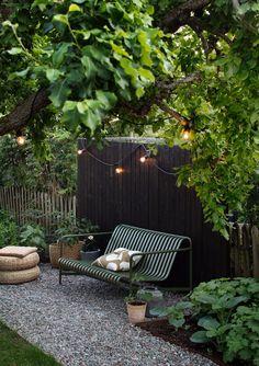 Scandinavian Garden, Scandinavian Design, Back Gardens, Outdoor Gardens, Outdoor Plants, Small Gardens, Backyard Patio, Backyard Landscaping, Backyard Ideas