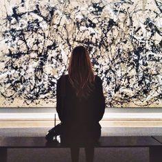 """""""Jackson Pollock at The Met"""" @Thetransatlanticblog via Instagram"""