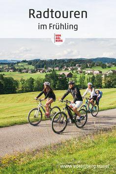 Die schönsten Radtouren im Frühling zwischen dem Bodensee und den Bergen. Tipps zum Radfahren im Frühling und Tourenempfehlungen. Bergen, Bike Rides, Summer, Tips, Nice Asses, Pictures, Mountains