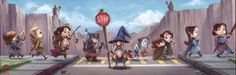 """""""YOU SHALL NOT PASS"""" (GOODIES)  By Patrick Ballesteros"""