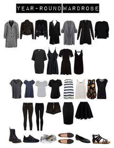 """Year-round Capsule Wardrobe by toukotakku on Capsule Outfits, Fashion Capsule, Mode Outfits, Fashion Outfits, Fall Capsule Wardrobe, Capsule Wardrobe How To Build A, Plus Size Capsule Wardrobe, Fashion Tips, Minimal Wardrobe"