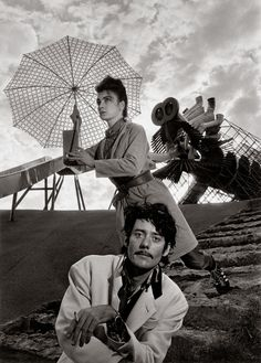 Les Rita Mitsouko (guitarist Fred Chichin and singer Catherine Ringer) - French pop rock group. Robert Doisneau, Henri Cartier Bresson, Man Ray, Catherine Ringer, Persona, Exposition Photo, Eartha Kitt, Portraits, French Photographers