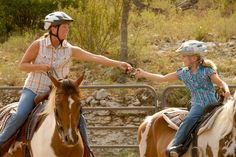 The moms-and-daughters dude ranch encourages bonding through fun horseback games, rodeo and horse care activities. If your little girl loves horses,. Dude Ranch Vacations, Guest Ranch, Horse Care, Horseback Riding, Fun Activities, Lonely, Montana, National Parks, Teen