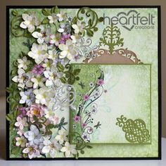 Heartfelt Creations | Cascading Water Lilies Layout