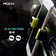 ROCK Car Phone Holder Mobile Car Phone Stand Outlet bracket
