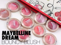 Maybelline Dream Bouncy Blushes