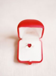 Heart Shaped Ring|Photographer: Polly Alexandre