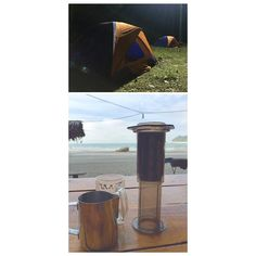 DAY vs NIGHT Camped at Teluk Cempedak beach last night(couch surfing) and woke up by the whispers of the ocean...  #camping #tent #peace #couchsurfing #sea #ocean #bluesky #waves #whispers #holiday #getaway #vacay #specialtycoffee #coffeeaddict #coffeelover #coffee  #coffeetime #aeropress #v60 #pourover http://ift.tt/1Vbg53z