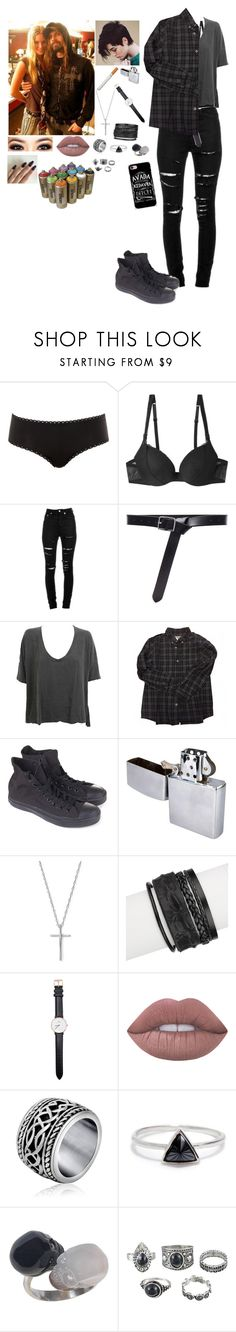 """""""Justine Zombie (Cummings)"""" by psychobowers ❤ liked on Polyvore featuring Calvin Klein Underwear, La Perla, Yves Saint Laurent, Frame, James Perse, Bonpoint, Converse, Bloomingdale's, Saachi and Daniel Wellington"""