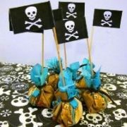 Druiven in piratenbuidel