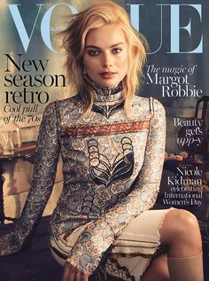 Margot Robbie for Vogue Australia March 2015. Photographed by Alexi Lubomirski and styled by Christine Centenera.