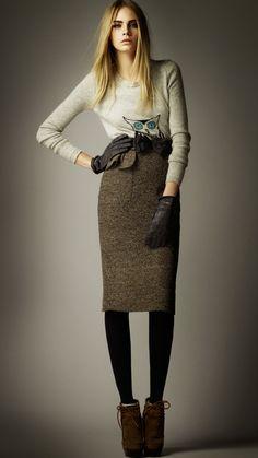 Burberry - I think this would make me look stumpy but you never know?