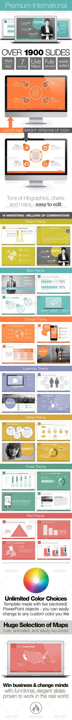 Premium International Template System - Business Powerpoint Templates