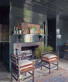 Lacquered Walls — The Berkshire House