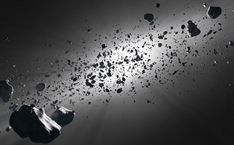 Asteroids The asteroid belt in black and white. - The asteroid belt tells the story of the creation of the solar system. Space Debris, Asteroid Belt, Asteroid Mining, Sun Stock, Custom Wall Murals, Star Wars, Triomphe, Hubble Space Telescope, Our Solar System