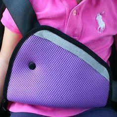 Transpirable Bebé Niño ajustar dispositivo de cinturón de seguridad del coche de Seguridad para Niños Tapa Del Hombro Del Arnés Del Cinturón de seguridad Correa de Ajuste Kids Clips Calientes