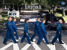 Expedition 26 Abbey Road Crew poster