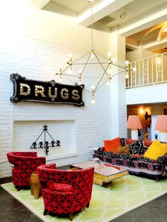 Ok, so this is a hotel.  But its got a great living room that's worth stealing!  --LYC