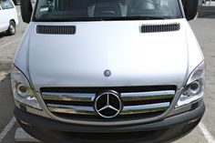 Sprinter..the bling chromed grill!