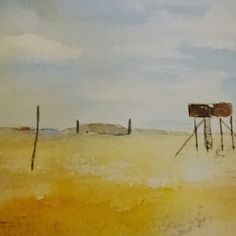 Lindisfarne watercolour