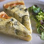 El domingo no hay excusa para comer sano con esta #quiche de #brocoli y queso azul. . . . #directoalpaladar #recipe #receta #healthyfood #instafood #foodie #gastro #cooking #foodlover