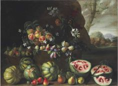 17th century Renaissance painting shows how watermelons looked before selective breeding