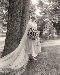 Wedding Dress of 1910's