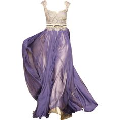 Mireille Dagher - edited by mlleemilee ❤ liked on Polyvore featuring dresses, gowns, long dresses, purple, medieval, purple gown, purple evening gown, purple ball gown and purple dress