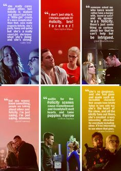 She was only supposed to be on one episode and now she is the most beloved character on the show. Felicity tumblr.
