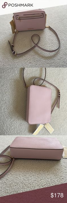 MK Blossom Leather Crossbody Brand new with tags! New design! Absolutely stunning Crossbody! Michael Kors Bags